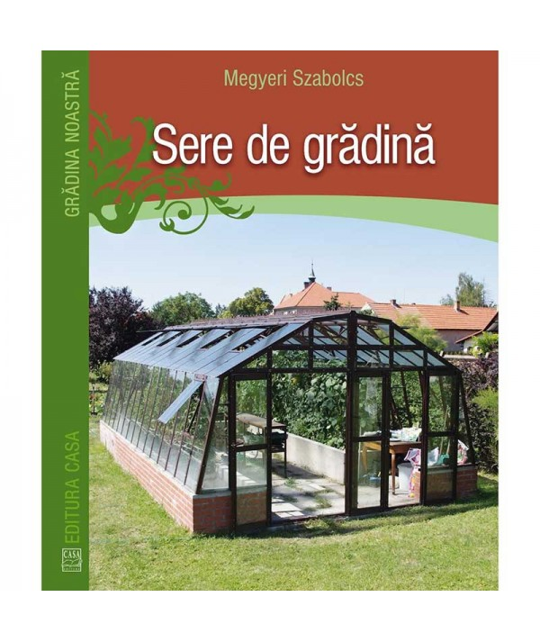 Sere de grădină - Megyeri Szabolcs - coperta