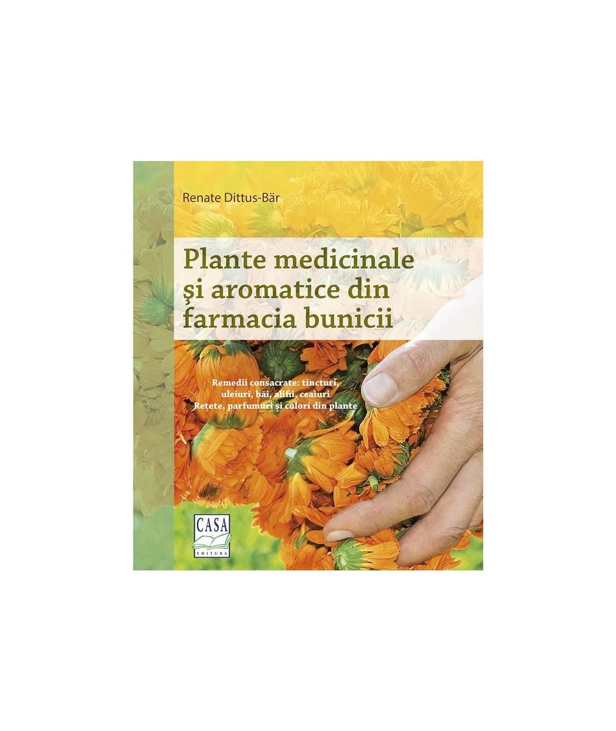 Plante medicinale si aromatice din gradina bunicii - coperta