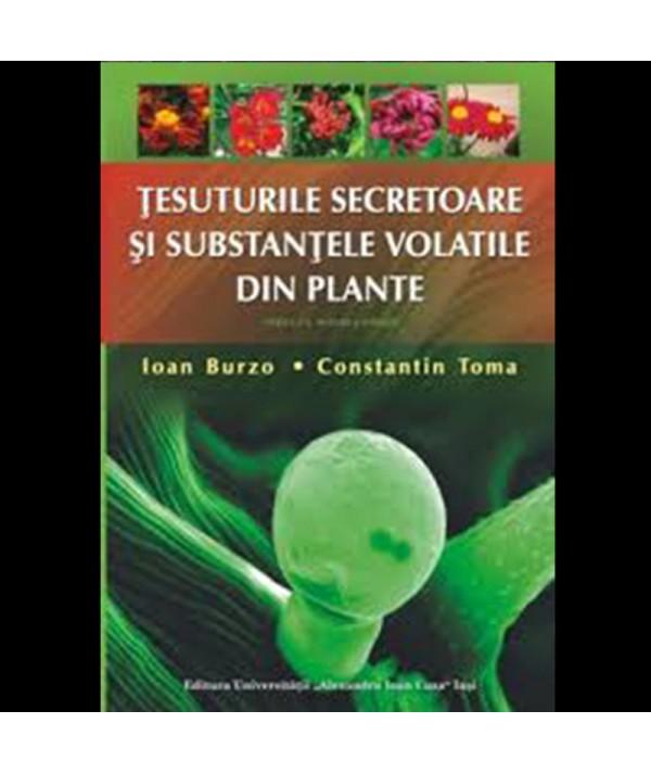 Tesuturile secretoare - substantele volatile din plante - coperta prezentare