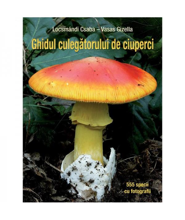 carte cu 555 de specii de ciuperci