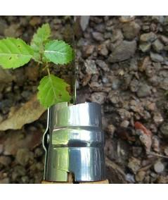 Briceag Opinel pentru altoit si cules plante (seceruta) - detaliu sistem Virobloc