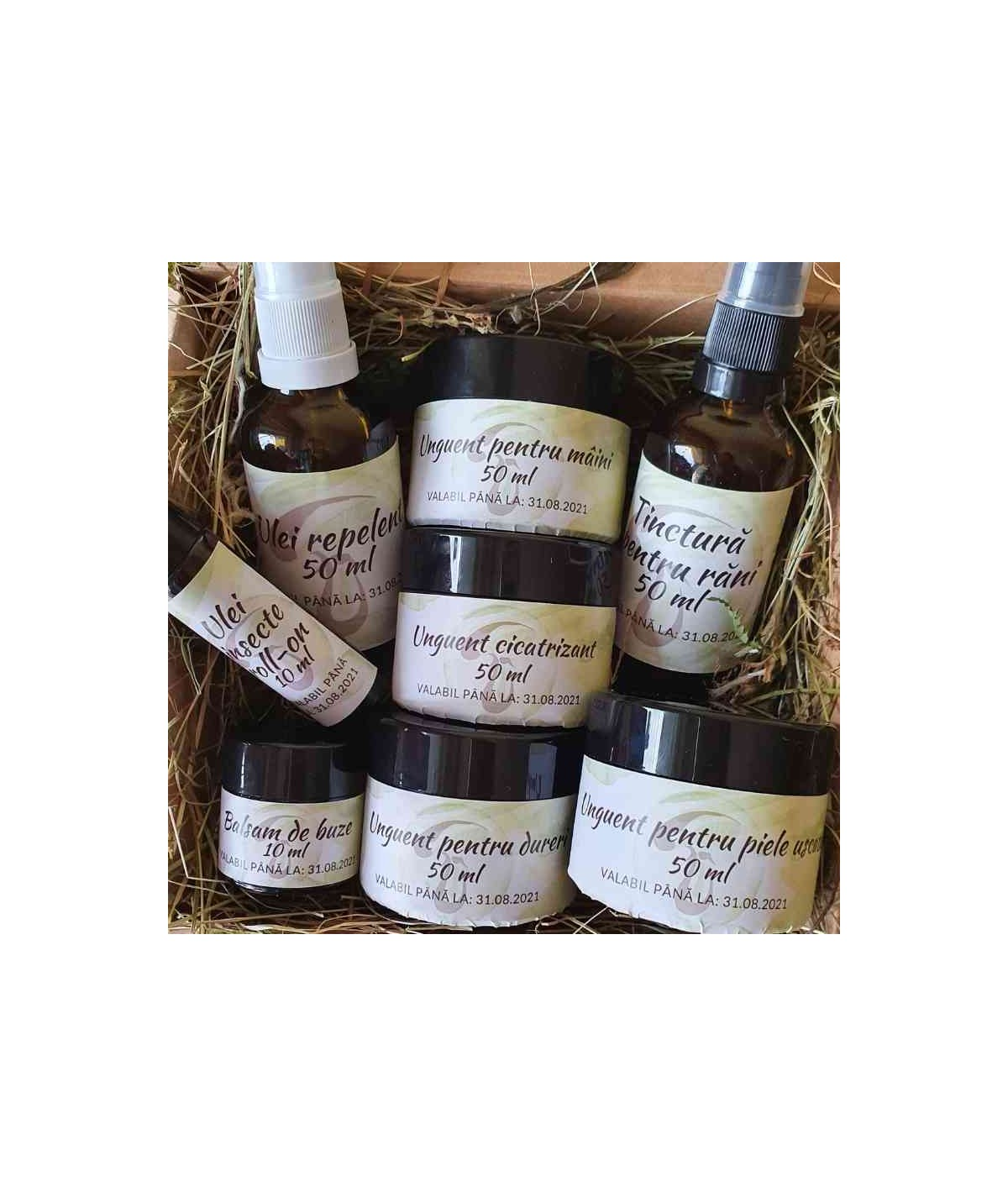 Kit complet cosmetice naturale